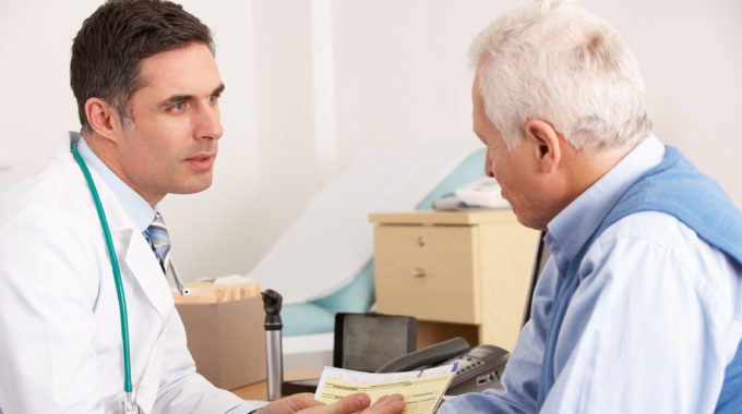 Doctor Discussing Hospice With Patient